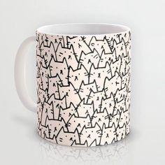 A Lot of Cats mug by Kitten Rain