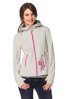#Ocean #Sportswear #Damen #Ocean #Sportswear #Softshelljacke #natur - Produkttyp…