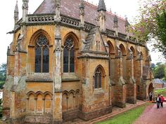 The Chapel at Tyntesfield, Bristol - neo Gothic house with chapel from 1843 onward