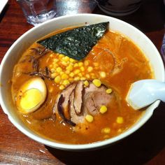 Pork Ramen Noodles @Minca NYC