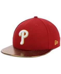New Era Philadelphia Phillies Mlb Metallic Slither 59FIFTY Cap