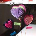 A+folded+paper+heart