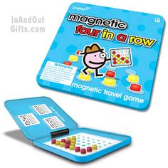 Magnetic Four in a Row Travel Game - Toysmith - Huge Variety