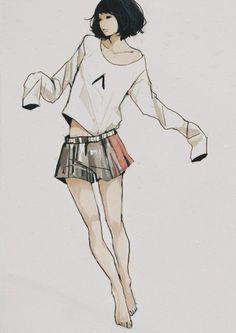 fashion illustration great lines