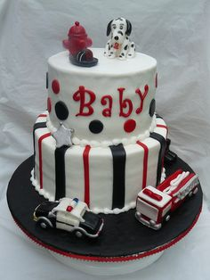 When I Grow Up Baby Shower Cake