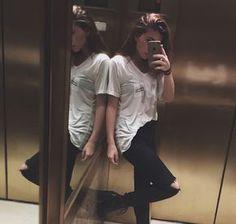 Selfies espejos