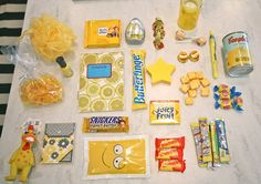 Bag of Sunshine Gift Bag:) cute idea for a get well present