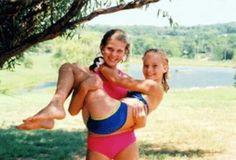 Little Jen, she was sooo cute. Oh...