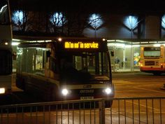 Scottish bus humor - should be 'nae in service' lol