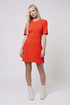 Wear a dress with smart ankle boots http://www.iamintothis.com
