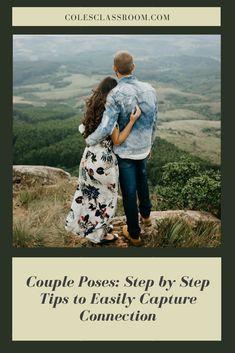 Find out our step by step process for posing couples to capture connection and raw emotion at the photo shoot. #colesclassroom #photoshoot #photography #naturalposingtips