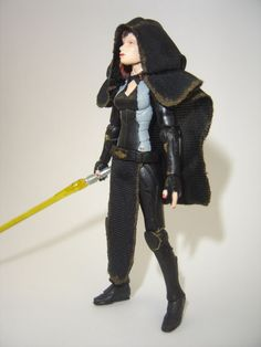 Custom Star Wars SWTOR Vaylin 3.75in figure sith jedi mandalorian darth EU