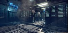 [CE3] Sci-Fi Server Room - Page 4 - Polycount Forum