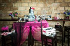 table de desserts mariage