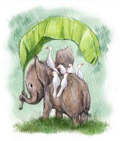 Illustrated by Sydney Hanson