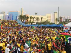 Fan Park - 2010 Fifa World Cup, Durban - South Africa