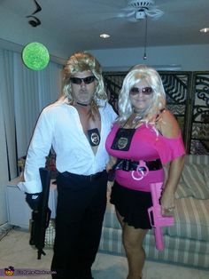 Dog and Beth The Bounty Hunters - I think i need to do this someday with someone just cause i have the name for it!