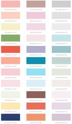 👆 palette overview from the newest issue of the seasonal atlas on the Design Seeds site . Pantone Colour Palettes, Paint Color Palettes, Pastel Colour Palette, Colour Pallette, Pantone Color, Colour Schemes, Pastel Colors, Color Psychology, Good Notes