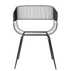 Trame tuoli, musta ryhmässä Huonekalut / Tuolit / Tuolit @ ROOM21.fi (131406)