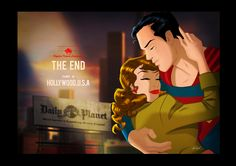 Classic Superman and Lois by Des Taylor http://despopart.blogspot.com/