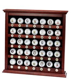 Golf Marker Magnet Display Cabinet - GreatGolfMemories.com   Golf ...