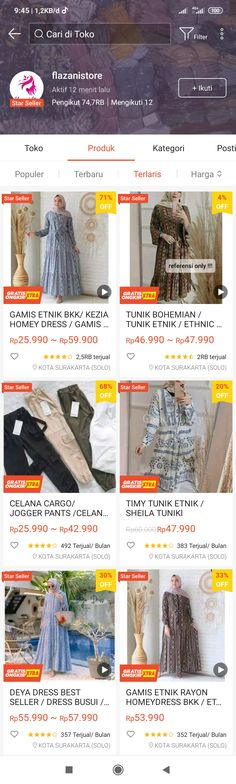 Best Online Clothing Stores, Online Shopping Sites, Online Shopping Clothes, Muslim Fashion, Korean Fashion, Online Shop Baju, Diy Crafts Hacks, Get Dressed, Shops