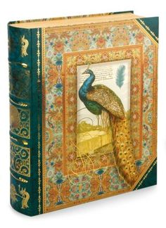 For all my desk notes!  This is so great.  Large Peacock Book Box