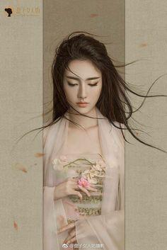 Ji Hye Park - Editorial Fashion Photography by Jingna Aha China Girl, Foto Art, Beautiful Asian Women, Chinese Art, Chinese Painting, Chinese Style, Japanese Art, Asian Art, Art Girl