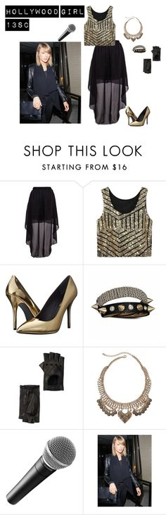 """""""Concert TIme"""" by hollywood-girl-13sc ❤ liked on Polyvore featuring Pierre Balmain, Bling Jewelry, Portolano, Decree and 525 America"""