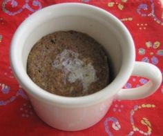 Easy muffins in the microwave!