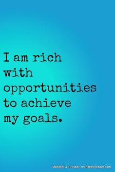 Manifest Prosper: Opportunities prosperity affirmations http://the-secret-of-success.com/loaMoney