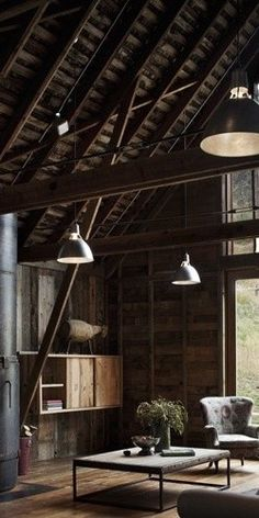 maybe someday my barn will look like this = Barn styling
