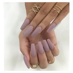 """Chaun P. on Instagram: """"Did y'all know how much I love Matte Nails... ❤ liked on Polyvore featuring beauty products and nail care"""