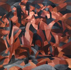 Francis Picabia. <em>La Source (The Spring).</em> 1912. Oil on canvas, <span class='nowrap'>8′ 2 1/4″ ×</span> <span class='nowrap'>8′ 2 1/8″</span> (249.6 × <span class='nowrap'>249.3 cm).</span> The Museum of Modern Art, New York. Eugene and Agnes E. Meyer Collection, given by their family, 1974. <span class='nowrap'>© 2016</span> Artist Rights Society (ARS), New York/ADAGP, Paris. Photo: The Museum of Modern Art, John Wronn and Jonathan Muzikar