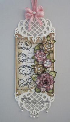 Heartfelt Creations | Vintage Floret Love Tag
