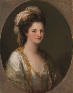 c. 1770 Angelica Kauffmann- Portrait of a woman, traditionally identified as Lady Hervey