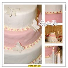 Linda a Jan, svatební dort