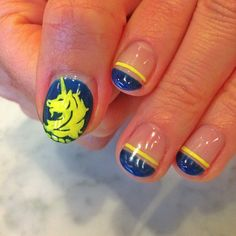 Nailed It: The Best Manicures at the Boston Marathon