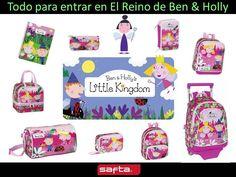Y para los más pequeños, colección Ben & Holly ! mochilas, estuches, cuadernos... todos lo necseario para el colegio o para un regalo! www.papeleriamiguelturra.com