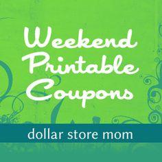 weekend printable coupons