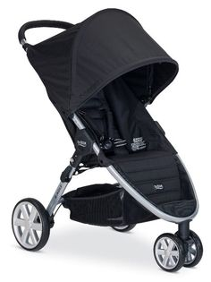 Modern design and a lightweight umbrella stroller. This one looks great and is easily operable. The three wheel design with a soft seat makes it worth the money. The canopy is big enough to protect your child from sun and rain.If you need more information this site can help you.