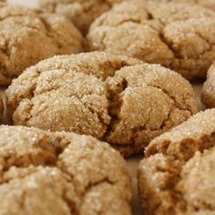 This easy ginger snap recipe makes a great little treat.. Ginger Snaps Recipe from Grandmothers Kitchen.