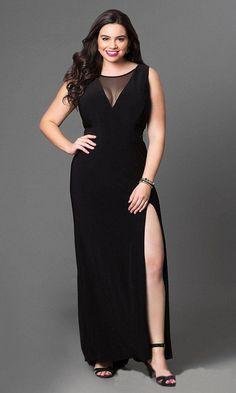 RalphLaurenWomensDresses  WomenDresses Maxi Dress With Slit 54a6c94716e8