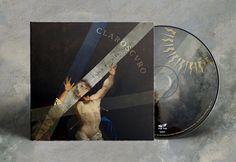 "Propuesta Original de portada, diseño digipack Disco ""Claroscuro"" de Fuma & Baila. Tue-Tue Records. Valdivia, 2017"