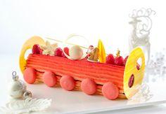 Flame Valentino Log Cake