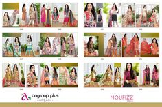 Today We Are Launching Pakistani Print Concept #KarishmaKapoor #MoufizzVol3 #PakistaniSuit #Designer Suit #StraightSuit MOUFIZZ vol 3 (Cat-ds-dd-moufizvol3)
