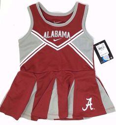 3b0e232f9 NWT~Nike Alabama Roll Tide Baby Girl Cheerleader ~ 24 months ~ Dress only