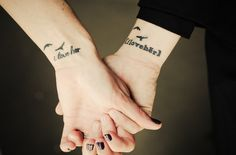 Others come in pairs: | 17 Stupendously Awesome Gay Tattoos  #tattoo #lesbian