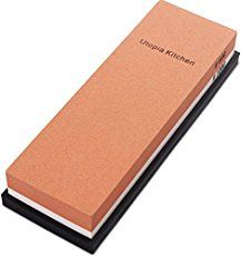 Double-Sided Knife Sharpening Stone Multi-Colored - Grit by Utopia Kitchen Best Sharpening Stone, Knife Sharpening, Global Knife Set, Trench Knife, Types Of Knives, Best Pocket Knife, Pocket Knives, Hard Metal, Chef Knife