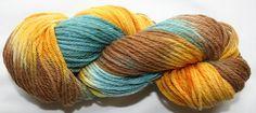 Hand Painted 100% Merino Worsted Weight Yarn...soft (43)